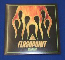 Militant Flashpoint~NEW~4 Track Promo CD~Ozzfest '99~Blasko~FAST SHIPPING!!!