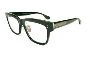 Brand New Dita AUDER Black And White Gold (01AF B) Eyeglasses