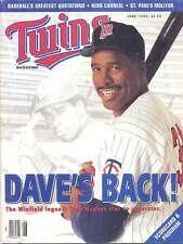 Minnesota Twins v Toronto Blue Jays 1993 Baseball Magazine Style Programme