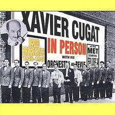 XAVIER CUGAT - IN PERSON -CD-NEW