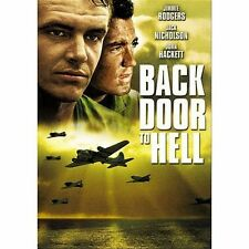 BACK DOOR TO HELL~1964 G/C RARE DVD~JIMMIE RODGERS JACK NICHOLSON JOHN HACKETT