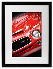 1973 Pontiac Firebird Formula 400 Photo Art Print Muscle 455 V8 1972 Red