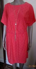 NWT CORAL RONNI NICOLE O SO SLIM DRESS SIZE 12