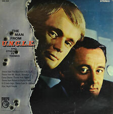"L'HOMME FROM U.C.N.L.E. ET OTHER TV THEMES 12"" LP (Q22)"