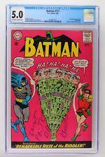 Batman #171 - DC 1965 CGC 5.0 1st SA App of the Riddler!
