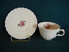 Copeland Spode Billingsley Rose Cup and Saucer Set(s)