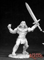 1 x BRAND BARBARIAN - DARK HEAVEN LEGENDS REAPER miniature rpg jdr conan 2529