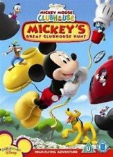 Mickey Mouse Clubhouse Mickey's Great Clubhouse Hunt Mickeys Region 4 DVD