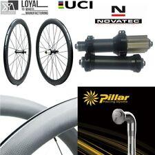 Carbon Straight Pull Hub 700C Carbon Wheel Tubeless Clincher Road Bike Wheelset