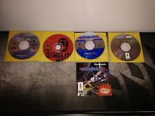3do Game lot of 4  Myst, Demolition Man, Starblade and World Cup Golf