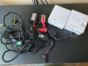 Innovited 35 Watt HID kit with H13 4300k bulbs and 8000k bundle