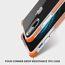 For iPhone X 8 7, iPhone 8 7 Plus Crystal Hard PC Back Panel Case Cover