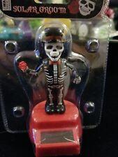 Solar Power Dancing Toys Solar Skeleton Groom Bobble Head Toys New