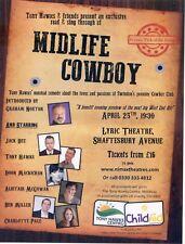 TONY HAWKS JACK DEE BEN MILLER Theatre Flyer Handbill