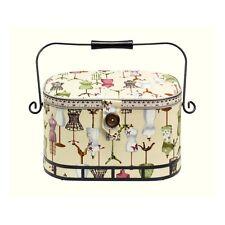 NEW | Prym 612250 | Dressform Print Sewing Basket | 30 x 20½ x 19cm | FREE POST