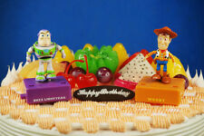 Disney Toy Story Buzz Lightyear Woody Movable Model Figure Cake Topper K1215 FH
