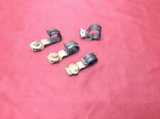 1966-1977 EARLY FORD BRONCO FACTORY DASH WIRE HARNESS CLIPS WITH HARDWARE!