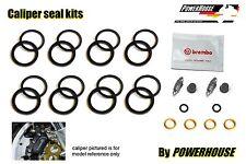 Ducati 851 89-91 Brembo Freno Delantero Caliper Seal Kit de reparación 1989 1990 1991