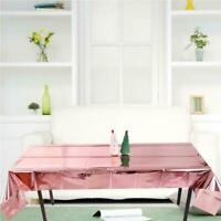 Plastic Disposable Tablecloth Table Cover Wedding Party Wedding Decor D2P2