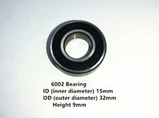 6002 BALL BEARING 15mmx32mmx9mm ID 15MM OD 32MM DEEP 9MM 15*32*9MM