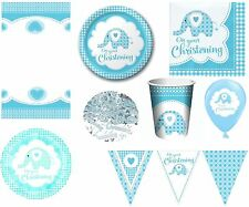 Christening Party Tableware