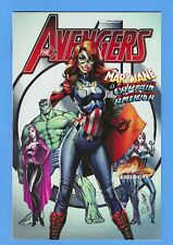 "AVENGERS #8 NM 2017 J SCOTT CAMPBELL VARIANT A / ""MARY JANE IS CAPTAIN AMERICA!"""