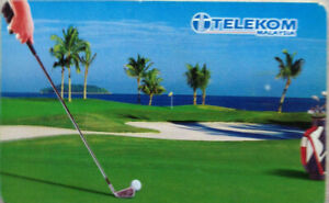 Malaysia Used Telekom Phone Card : Big Boys' Toy - Golf