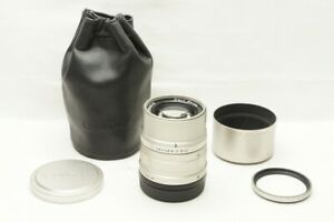 CONTAX Carl Zeiss Sonnar T 90mm F2.8 AF Lens for G1 G2 G Mount w/ Hood #210716w