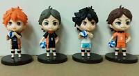 Haikyuu ball set of 4pcs PVC figure figures doll toy dolls model gift cool