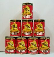 (Lot of 8 Cans) GOLD STAR Original Chili THE FLAVOR OF CINCINNATI - 15oz each