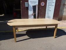 grande table industrielle meuble industriel usine loft chêne de 3 m ovale