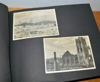 Vintage Japanese ATOMIC BOMB Before and After Photographs HIROSHIMA WWII