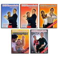 5 DVD Set Tanzschule Tanzkurs - Discofox Tango Walzer Salsa Boogie Jive Foxtrott