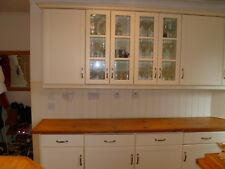 Cream Kitchen Units (used) with Neff appliances