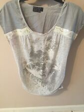 Women's Gray Top by MCM Size M