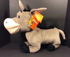 "Shrek 2 Jumbo Plush Donkey - Dreamworks 2004 Hasbro 24"" Plush with Tags"