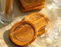 Suntory Yamazaki single malt Whisky barrel recycle Coaster 4 pieces Japan