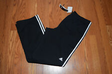 NWT Mens ADIDAS Black White Weekender Active Straight Leg Pants Size XL X-Large