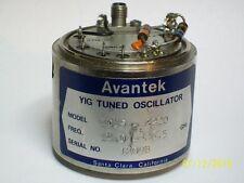 Avantek 18-26.5 GHz yig Microwave Oscillator ex Gigatronics Giga tronics 1026