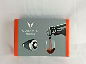 """Coravin Aerator Wine Preservation Pouring Stainless Steel """"BRAND NEW"""" 802013"""