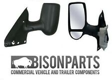 *Ford Transit MK6 MK7 Complete Wing Door Mirror Electric N/S PASSENGER LH TRA401