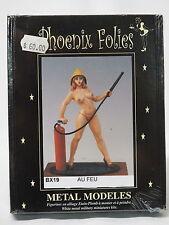 BX19 FIREFIGHTER, Phoenix Folies, 80mm Metal Miniature, Brand NEW