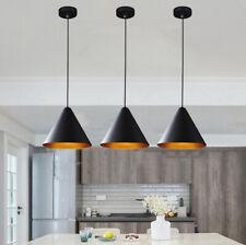 Bar Pendant Light Black Lamp Kitchen Chandelier Lighting Bedroom Ceiling Lights