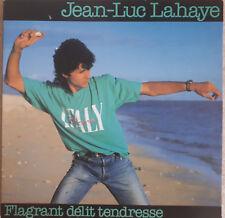"33T Jean-Luc LAHAYE Vinyle LP 12"" FLAGRANT DELIT TENDRESSE - PHILIPS 830558"