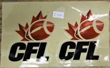 CFL Helmet Decals (set of 2) - 2002-2015 Logo