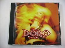 DORO - DORO LIVE - CD NEW UNPLAYED 1993 - VERTIGO