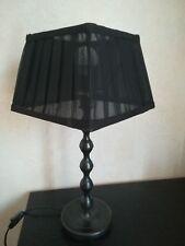 Lampenschirm  ∅ 14-20cm , H: 14cm  schwarz  Ausstellungsware !!