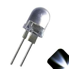 20 x LED 10mm Cool White .5 Watt Super Bright High Power LEDs 0.5w half 1/2 Car