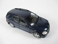 Mercedes Benz ML 350 SUV in blau 1:34, Modellauto diecast,Neu