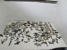 Antique Furniture Fixings, Handles, Escutcheon Plates, Finger Plates,4.6kg Total